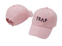 Чистый хлопок TRAP Hat Розовый Довольно девушки, как бейсболки Trap Music 2 Chainz Rap LP папа Hat Hip Hop Hood оптовые