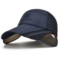 Cappelli da corn avaro 1 pz cappello da sole uomo secchiello secchio donne estate tappo da pesca larga protezione UV flap maschile traspirante maglia spiaggia bone gorras
