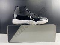 2020 25-й юбилейный jumpman 11 11s черный серебристый реальный углеродное волокно мужчины женщин баскетбол обувь спортивные кроссовки размером 5.5-13 CT8012-011