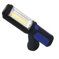 جديد متعدد الوظائف LED COB USB قابلة لإعادة الشحن ضوء العمل المغناطيسي فحص الشعلة