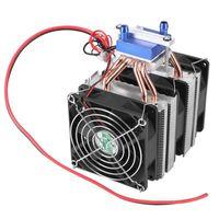 1 PC Cooler thermoélectrique Semiconductor réfrigération Peltier refroidisseur d'air de refroidissement Radiateur à eau de refroidissement Chiller Dispositif système