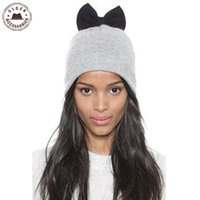 Beanie / Kafatası Kapaklar Balaclava Ulgen Tasarlanmış Moda Örme Şapka Kış Kadın Serin Kasketler Satılık Rhinestone Beanie [Hul114G3200]