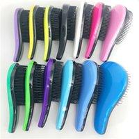 2020 цветная гребень для волос пластиковая гребень анти-узла моческа для волос волшебная ручка, узел, щетка для волос, парикмахерская, косметолог, практический инструмент, перма
