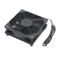 Potenza silenziosa ventola di raffreddamento fai da te ventola di raffreddamento DC5V USB per il Router TV Box Radiatore