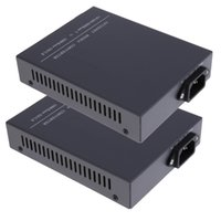 2ST SC Single-Mode-Dual Fiber Media Converter Gigabit 10/100/1000 Mbps RJ45