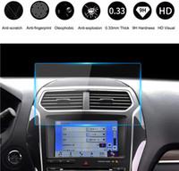 Ausgeglichenes Glas Screen Protector 8-Zoll-Auto GPS-Navigation Display-Schutz für 2013-2020 Ford F150 F250 F350 F450 Flucht Expedition Fusion