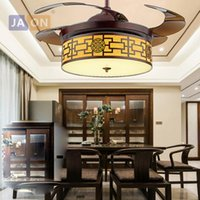 LED Çin Demir Akrilik Uzaktan Kumanda Tavan Fan.LED Lamp.LED Light.Ceiling Lights.LED Tavan gün ışığına Foyer ABS