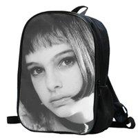 ماتيلدا ظهره ليون Daypack حقيبة ناتالي بورتمان الصورة المدرسية صور حقيبة حقيبة مدرسية الرياضة حزمة اليوم في الهواء الطلق