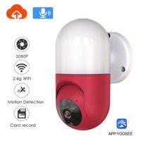 Telecamere Neocooolcam HD 1080p Lampada da parete WiFi Camera 2MP 2 Way Audio / Motion Detection Night Vision Supporto IP Supporto cloud stoccaggio cloud