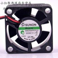 Para Sunon GM2404PKVX-A 24V 1.7W 4cm 4020 4 * 4 * 2cm 40 * 40 * cpu 20MM enfriador disipador de calor axial del ventilador de refrigeración