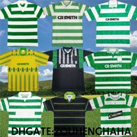 Retro Moravcik Celtic Soccer Jerseys Classic 89 94 95 96 97 98 01 02 05 06 Dalglish Larsson Jackson Nakamura Camisetas de fútbol antiguo