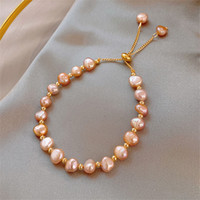Charme Armbänder Barock Unregelmäßige Perle Für Frauen Mädchen 2021 Mode Elegante Quaste Schmuck Geschenke online verkaufen