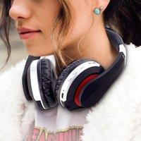 MH7 على الأذن سماعات لاسلكية إلغاء الضوضاء بلوتوث 5.0 للطي سماعة ستيريو الألعاب سماعة ل ipad الهاتف المحمول