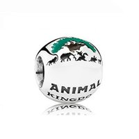 NUOVO 100% 925 Silver 1: Gioielli Unito 60 ° Anniversario in rilievo retro delle donne di Charme 1 Glamour fumetto Fata degli animali