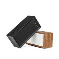 Haut-parleurs combinés V2 en bois Rétro Bluetooth Haut-parleur sans fil Haute Qualité 32 Go