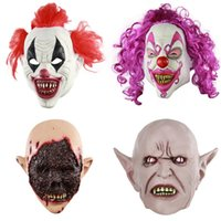 Праздник партии одеваются Supplies Хэллоуин новизны Latex Mask Dance Party новизны Смешные одеваются маски