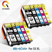 Cartouches d'encre Compatible Cartouche complète pour 33xl T 3351 Expression XP 530 XP-630 640 635 645 830 900 Imprimante