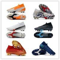 الرجال أعلى ارتفاع الأحذية تحت الرادار زئبقي ال superfly VII 360 الأحذية النخبة FG كرة القدم نيمار ACC ال superfly 7 أحذية كرة القدم في الهواء الطلق النخبة 39-45
