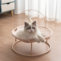 Кошка кровати мебель домашнее животное колыбель кошек крытый дом гамацкий коврик для теплых маленьких собак котенок кровать шезлонг милые спящие коврики игрушка