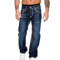 Erkek Kot Laamei Sıska Pantolon Pantolon Rahat 2021 Sonbahar Erkek Şerit Slim Biker Sweatpants Günlük Yaşam Dış Giyim