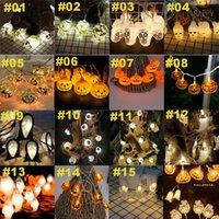 실내 아웃 도어 도매 램프 매달려 할로윈 LED 조명 3m (20) LED 스트링 조명 파티 할로윈 장식 호박 조명 해골