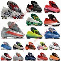 2020 Mercurial Superfly VII 7 360 Elite SE FG CR7 سفاري رونالدو نيمار NJR رجل بنين كرة القدم أحذية كرة القدم الأحذية المرابط US3-11