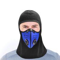 Unisexe adulte Vélo Caps respirant coupe-vent et le cyclisme Facemask équitation moto de bicyclette Chapeau Sport Courir Chapeau solide