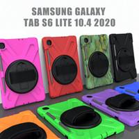 Cas de silicone militaire de 3 couches pour l'onglet Samsung A 9.7 10.1 10.5 S7 10.4 P610 T870 Kindle Fire HD 10 Huawei Matepad 10.4 Couvre