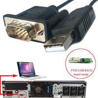 Computer Cavi Connettori FTDI USB RS232 a DB9 per APC UPS 940 0024C Cavo di comunicazione Serial Kable