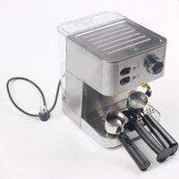 HIMOSKWA 1.5L الفولاذ المقاوم للصدأ التلقائي القهوة آلات الإيطالية قهوة اسبريسو البخار صانع الحليب Frother عالية الجودة 220V