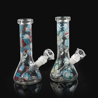 7. 9' ' Glass Bong Heady Water Pipe Recycler mini da...