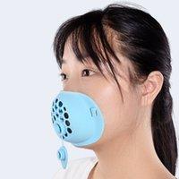 3D-Silikon-Maske-Halterung mit Trinkloch-Stand Innenstütze bequem zum Verbessern von Atemmasken-Tool-Zubehör EEB3662
