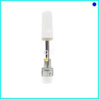 Venda quente GLO Vaes 0.8 / 1.0ml Cartridge de cerâmica Cerâmica Cartrige Vape Caneta Tanque Caixa Preta Embalagem Embalagem Carrinhos Vape Cartuchos Vape