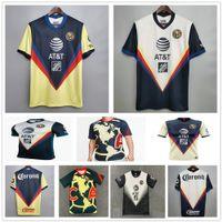 2020 Liga MX Club América Futebol Jerseys 20 21 Pré-matinais Treinamento Giovani O.Peralta P.Aguilar CA Goleiro Adulto Crianças Camisa de Futebol