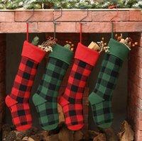 حك حقائب عيد الميلاد جوارب عيد الميلاد الجورب منقوشة عيد الميلاد جوارب الاطفال الحلوى هدية داخلي شجرة عيد الميلاد الديكور حزب معلقات YL484