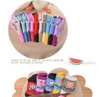 2021 Calzini per bambini New Baby Boy Girl Summer Socks Bambini Casmenti di cotone BUON QUALITÀ Cotone Soft Soft Socks Baby Candy Color