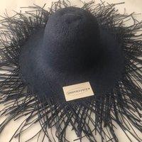 ZJBECHAHMU Casual New Vinatge Sólidos elegantes palha chapéus de sol para as mulheres Summer Girl Caps exterior do pára-sol do feriado dobrável chapéu de praia
