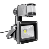 PIR 10W Projecteur LED projecteur d'entrée Ivanowa 12V 24V étanche sécurité garage Système solaire capteur de mouvement temps réglable