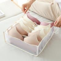 Unterwäsche Aufbewahrungsbox Socke Haushaltsutensilien setzen BH Unterwäsche-Schublade Typ Fächer Kinder Kleiderschrank Fertig Fall