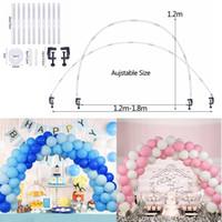 Party Dekoration Ballonhalter Säulen Stand Stick Hochzeit Tisch Bogen Kit Für Geburtstag DIY Backdrop Chain Supplies