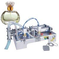 Horizontal máquina de enchimento de líquido multifuncional pneumático duplo cabeça de enchimento quantitativa máquina de pistão máquina de enchimento de líquido China sup