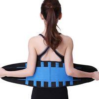 Kadınlar Erkekler Zayıflama Egzersiz kas Sıkıştırma Vücut Şekillendirici Bel Giyotin Karın Gym Wrap Kolay Aşınma Eğitim Sweat