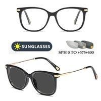 2020 نظارات القراءة اللونية طويل النظر معدن نظارات رجل إمرأة التقدمي متعددة البؤر الديوبتر قارئ FML