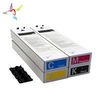 Cartuccia a getto d'inchiostro compatibile con cartucce d'inchiostro per Riso Comcolor 3050 2BK + 2Yellow + Pad di alimentazione