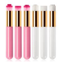 Professionelle Wimpernreinigungsbürste Lash Shampoo-Bürsten-Augenbrauen Nase Mitesser Reinigung Schönheit Make-up-Tools Cleanser