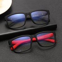 Солнцезащитные очки Ретро квадратный анти синий светлые очки женские мужчины классические старинные оптический зрелище оправданные очки миопии