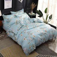 Svetanya Microfiber Bedding Set Sheet Pillowcase Quilt Cover Set Bed Linens
