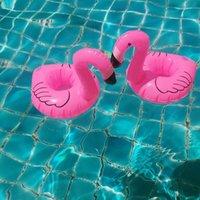 Porte-flamant gonflable Piscine Summer Piscine Flatements Boissons d'eau Boissons Cup Beach Mobile Téléphone Coupes Soins Rangée flottante