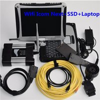 Wifi Icom Next Auto Diagnostic Tool Code Scanner with 720GB SSD CF19 Used laptop 8G Ready to use Interface and cables