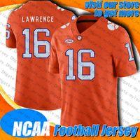 NCAA Clemson 16 Trepror Lawrence Jersey 1 Cam Newton Jersey Sony Michel 11 Julian Edelman Stephon Gilmore Trikots Dont'a Hightower